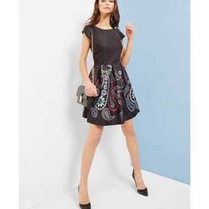 Ted Baker London Treasured Trinket Paisley Dress